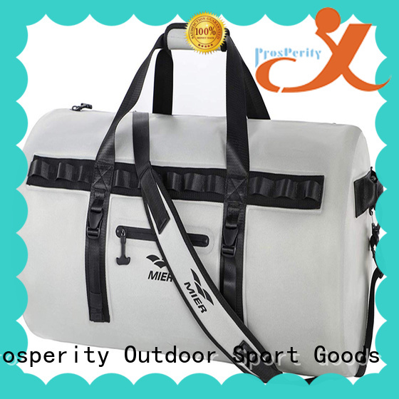 Prosperity outdoor dry pack with adjustable shoulder strap open water swim buoy flotation device