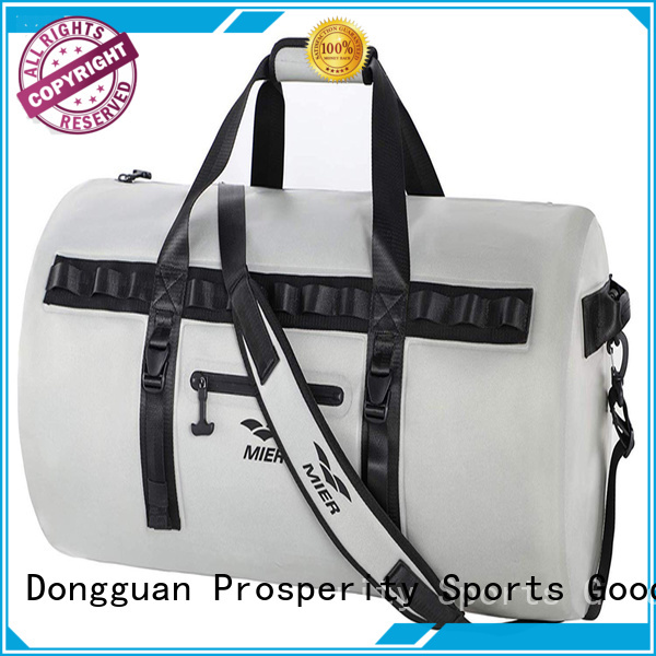 Prosperity floating dry pack bag with adjustable shoulder strap for fishing