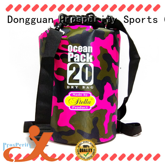 Prosperity heavy duty dry pack with adjustable shoulder strap for rafting