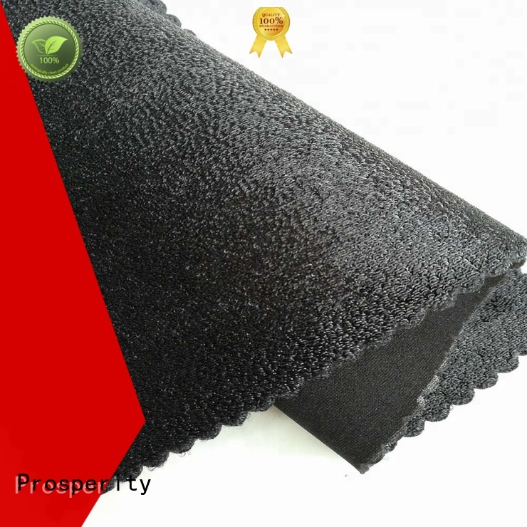 Elastic hook loop neoprene fabric for  knee support
