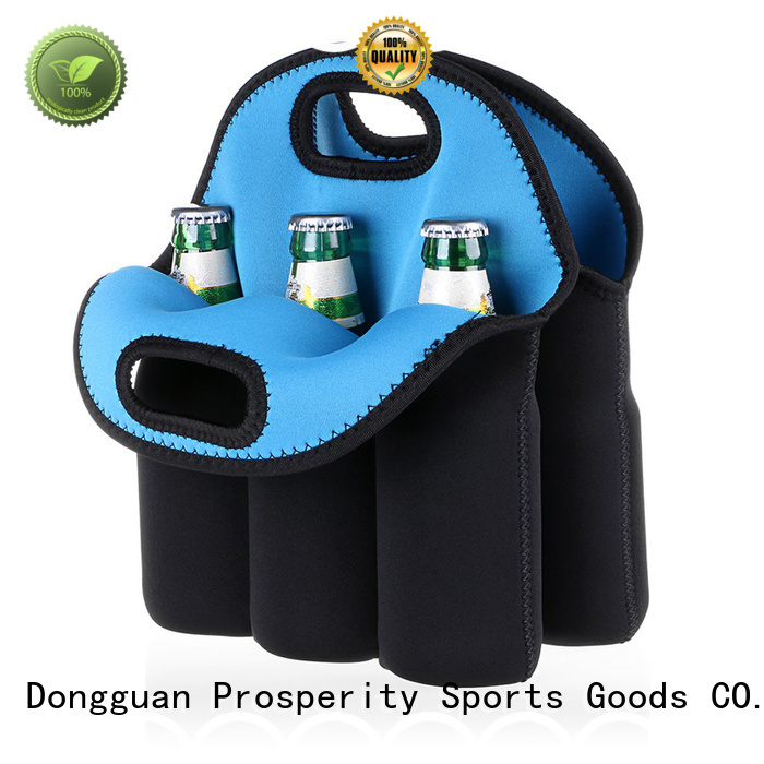 Prosperity cooler wholesale neoprene bags carrier tote bag for travel