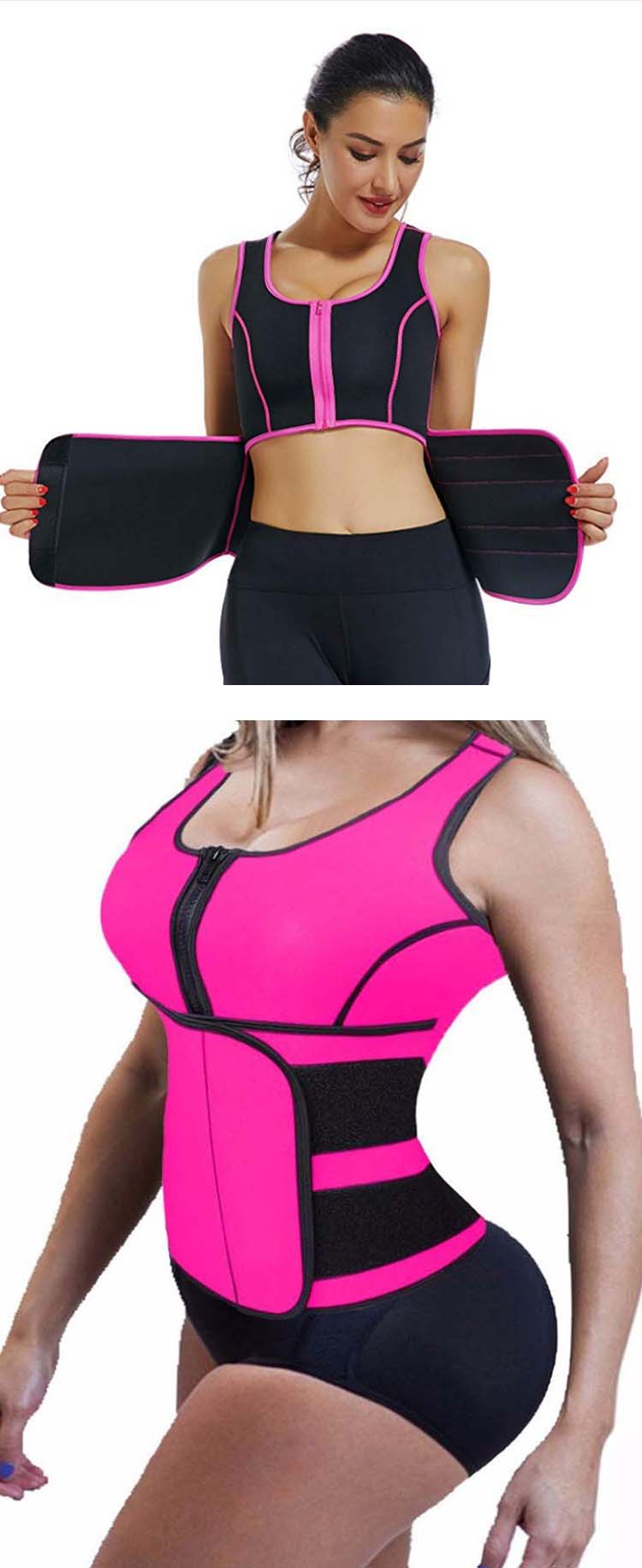 removable support sport vest suit for cross training-11