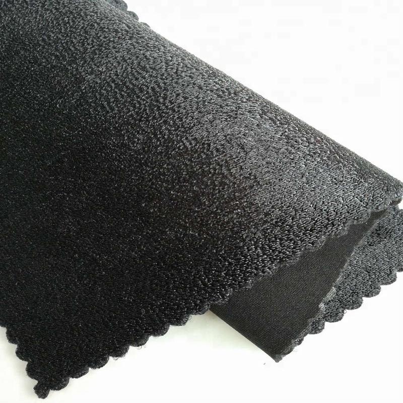Elastic hook loop neoprene fabric for  knee support