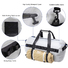 Waterproof Dry Duffel Bag Airtight TPU Dry Bag for Motorcycle, Kayaking, Rafting, Skiing, Travel, Hiking, Camping