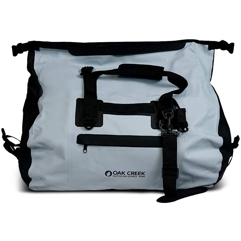 Prosperity polyester dry pack with adjustable shoulder strap for fishing