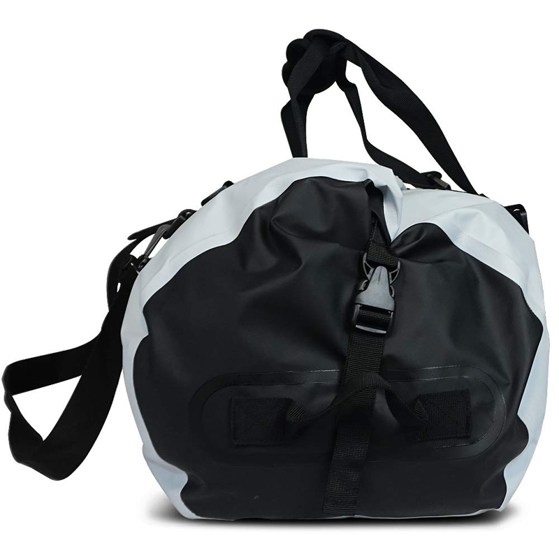 heavy duty dry bag with strap with innovative transparent window design for boating-4