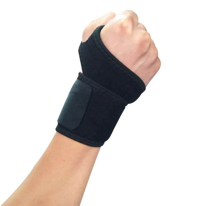 Adjustable Elastic Self-Heating Pressure Wrist Brace  Neoprene Support