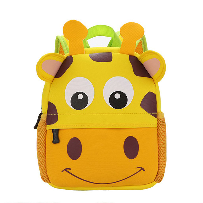 Kids Cute Neoprene Cartoon Backpack Schoolbag Toddler Backpack