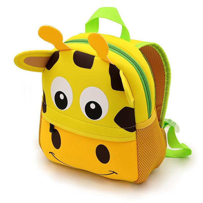 Kids Cute Neoprene Cartoon Backpack Schoolbag Toddler Backpack