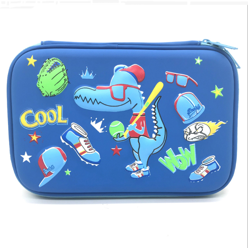 Eva Stationery Pencil Case Compartments For Kids School Students