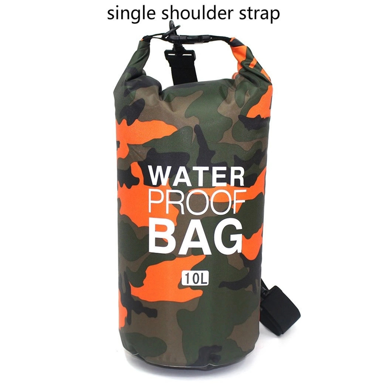 Prosperity dry bag with strap with innovative transparent window design open water swim buoy flotation device-6
