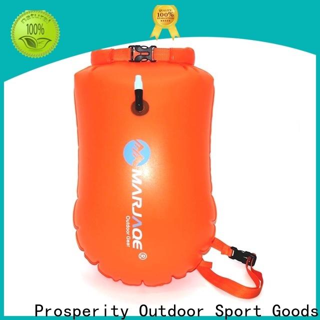 Prosperity waterproof bag for men supplier open water swim buoy flotation device