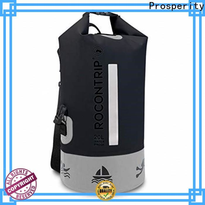 Prosperity custom dry backpack supplier open water swim buoy flotation device