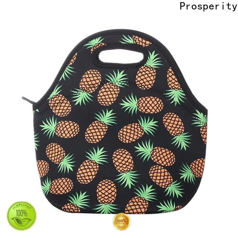 Prosperity new neoprene lunch bag supplier for sale