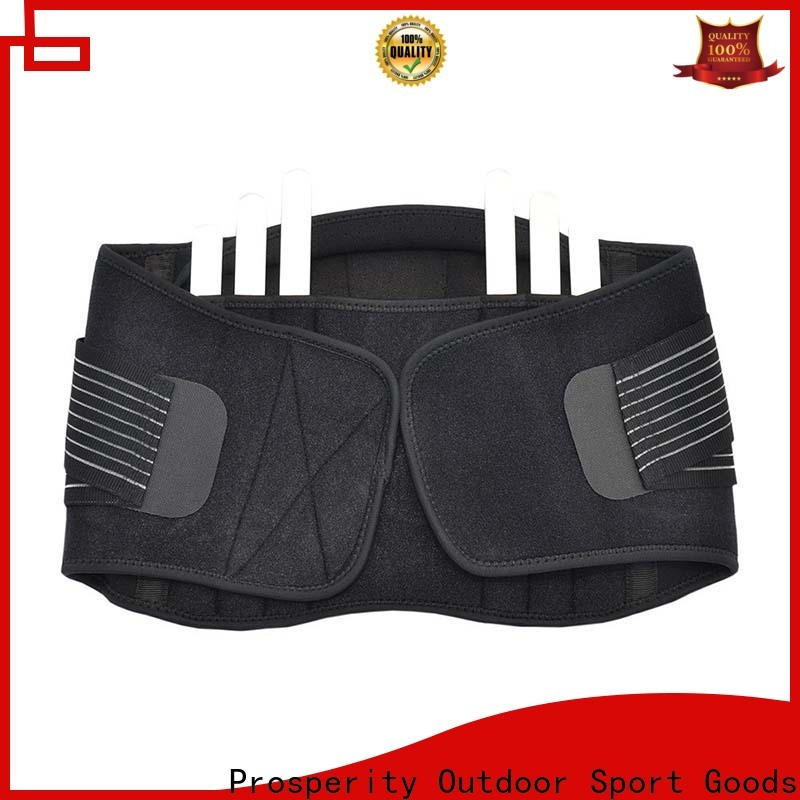 Prosperity sports back support brace factory for squats