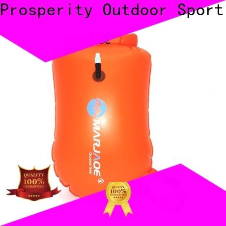 Prosperity black waterproof bag factory for boating