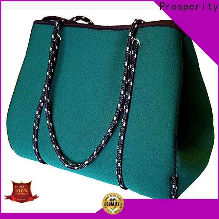 Prosperity new neoprene tote bag company for travel