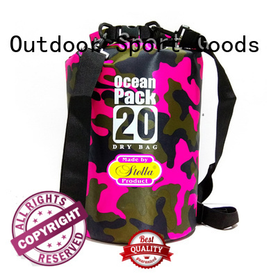 Prosperity polyester dry pack with innovative transparent window design for rafting