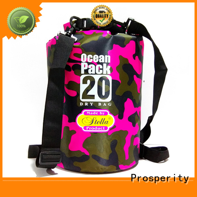 Prosperity outdoor dry pack with innovative transparent window design for boating
