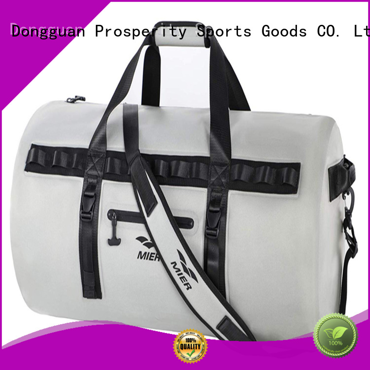 Prosperity drybag with innovative transparent window design for kayaking