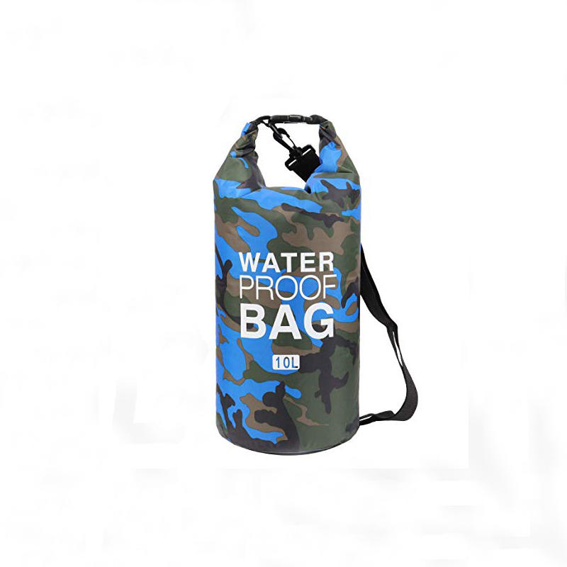 Prosperity dry bag with strap with innovative transparent window design open water swim buoy flotation device-1