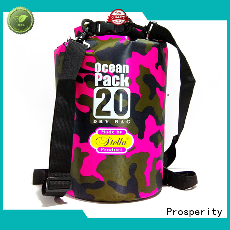 Prosperity polyester floating dry bag for rafting