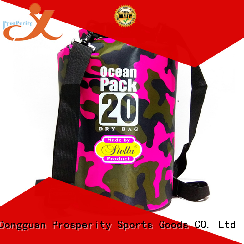 Prosperity dry bag sizes with innovative transparent window design for rafting