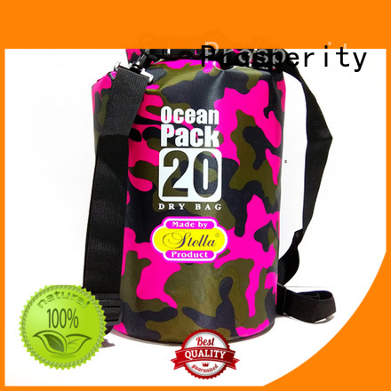 Prosperity dry bag with strap with innovative transparent window design for fishing