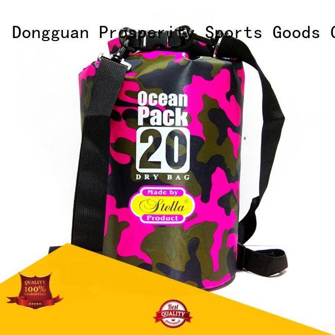 Prosperity best dry bag with adjustable shoulder strap open water swim buoy flotation device