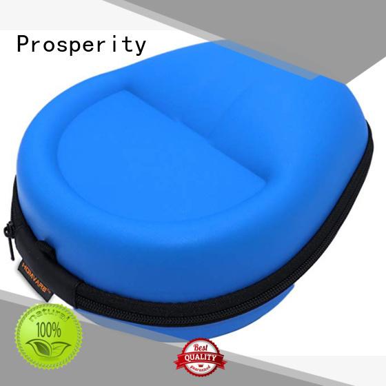 Prosperity shockproof EVA case disk carrying case for brushes