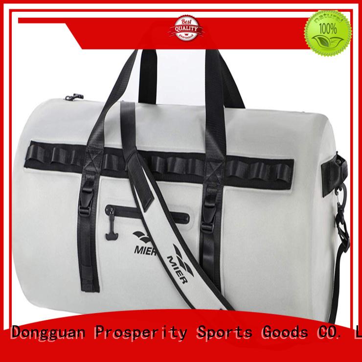 polyester dry bag backpack with adjustable shoulder strap for fishing