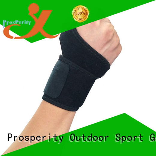 Prosperity adjustable sports knee support for basketball