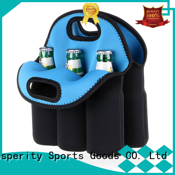 Prosperity bag neoprene water bottle holder for travel