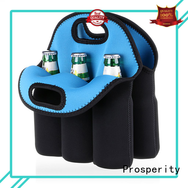 Prosperity customized wholesale neoprene bags water bottle holder for hiking