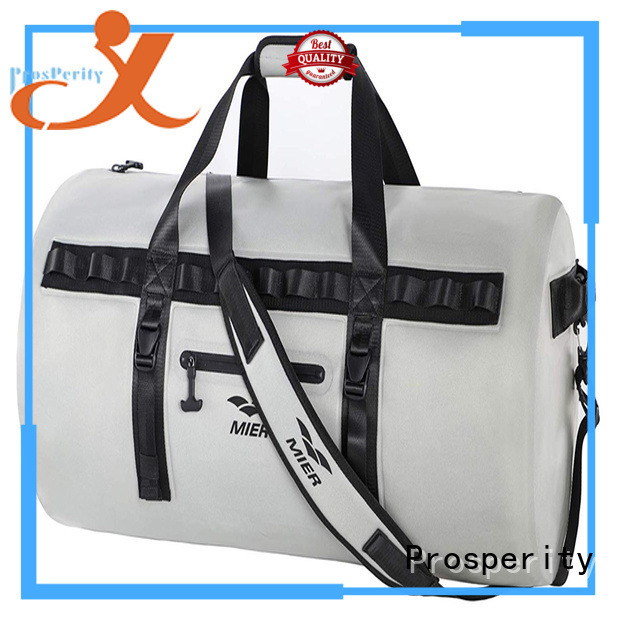 Prosperity dry pack with adjustable shoulder strap for kayaking