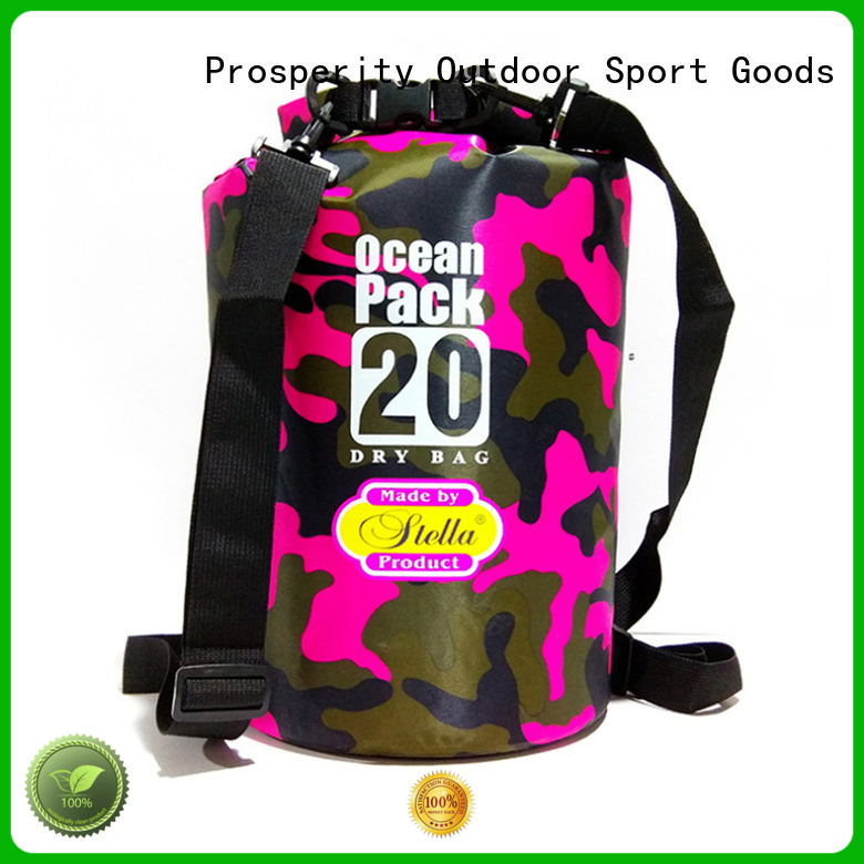 Prosperity heavy duty Waterproof dry bag with innovative transparent window design for kayaking