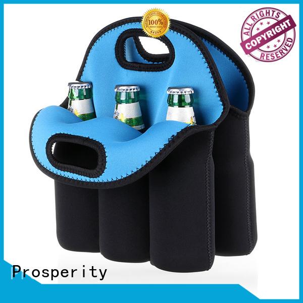 Prosperity small neoprene bag carrier tote bag for hiking