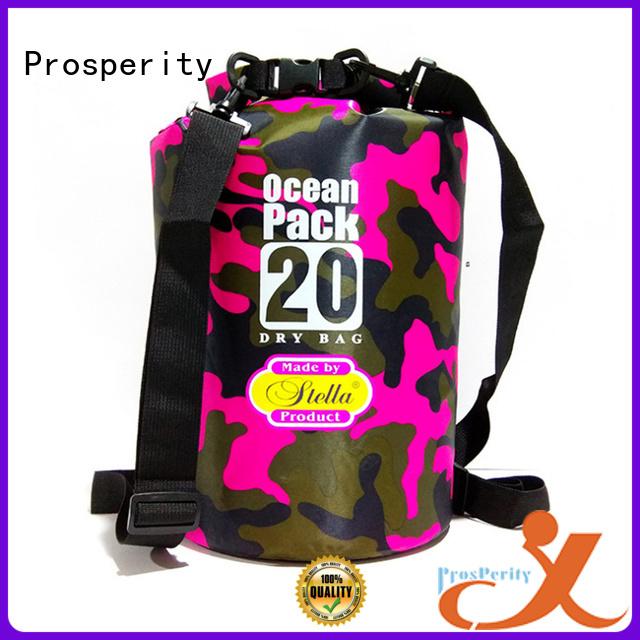 sport drybag with adjustable shoulder strap for fishing