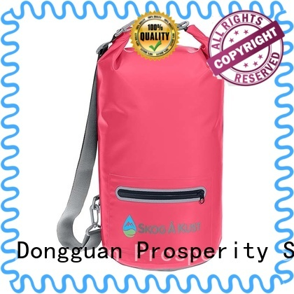 Prosperity outdoor dry bag sizes with innovative transparent window design for rafting