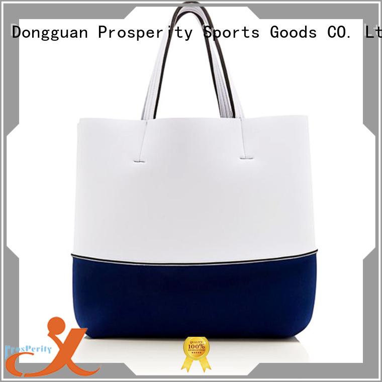 Prosperity customized small neoprene bag beach tote bags for travel