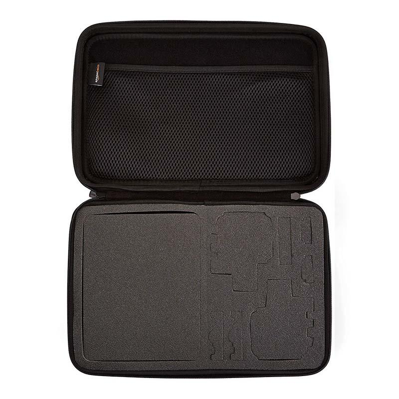 Large eva carrying   case for  2 gopro camera-1