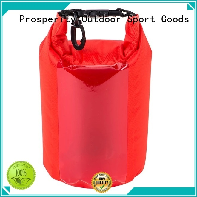 dry bag sizes with innovative transparent window design for rafting Prosperity