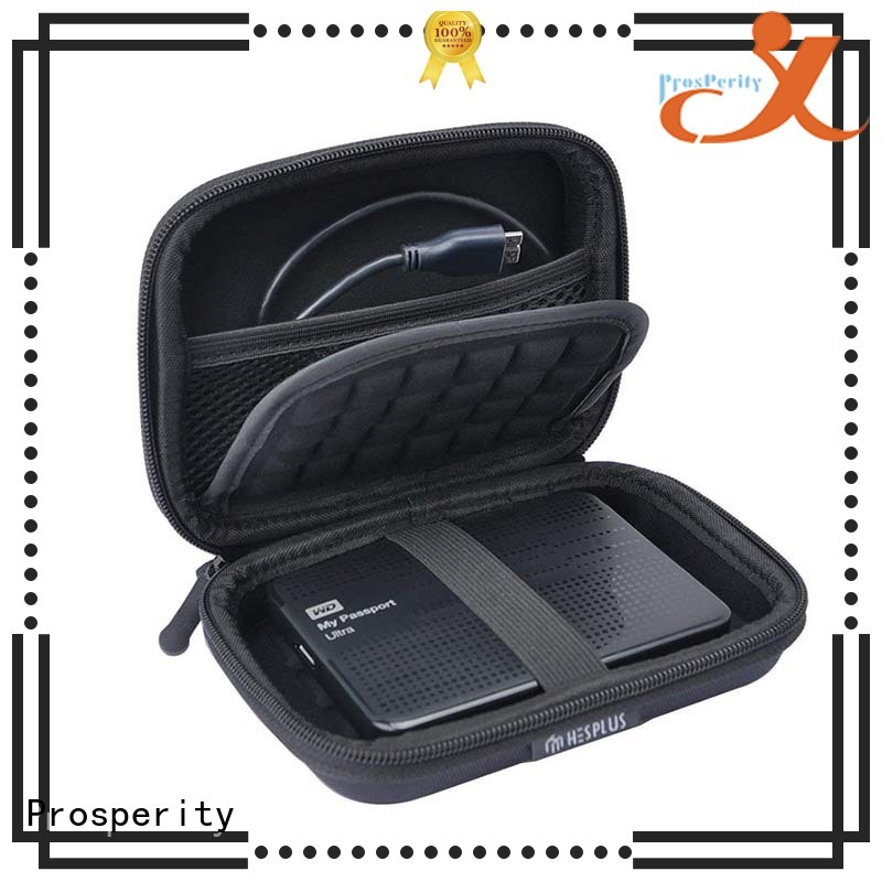 Prosperity protective eva travel case disk carrying case for pens