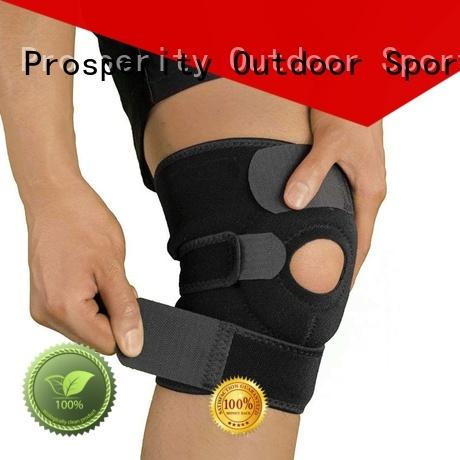 Wholesale sport neoprene adjustable knee support brace