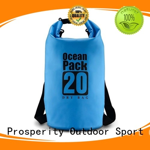 Prosperity Waterproof dry bag manufacturer for rafting