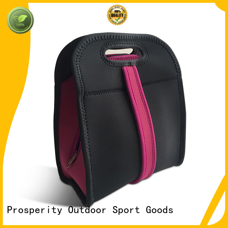 Prosperity promotion neoprene bag manufacturer with accessories pocket for sale