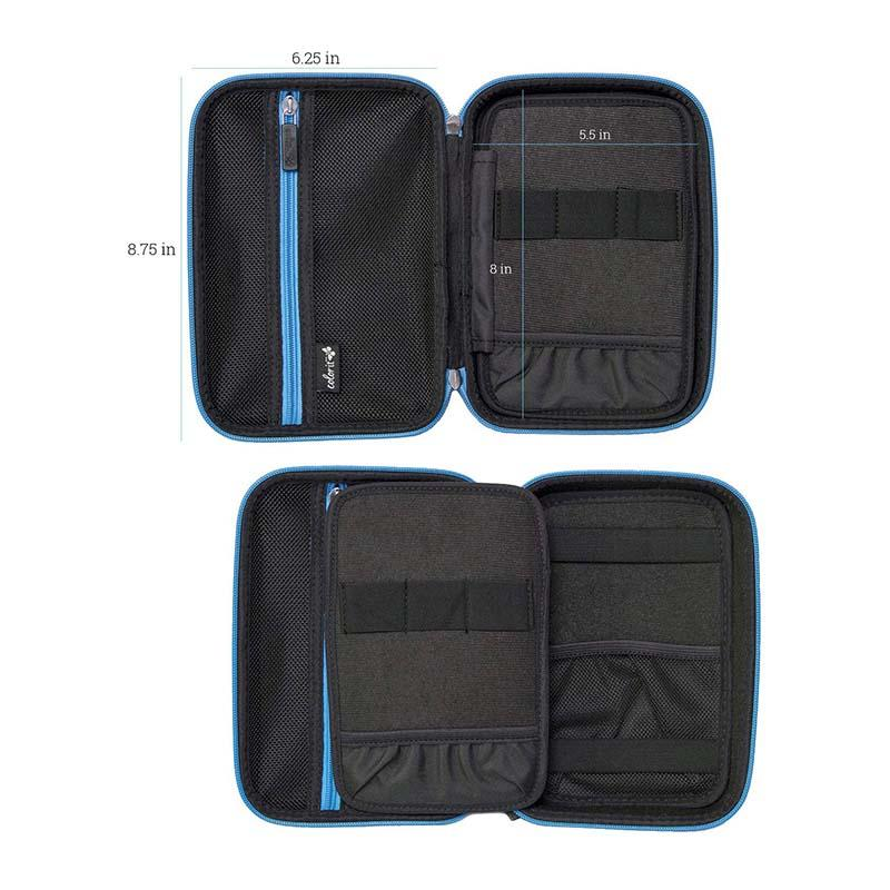 Prosperity eva zip case disk carrying case for gopro camera-2