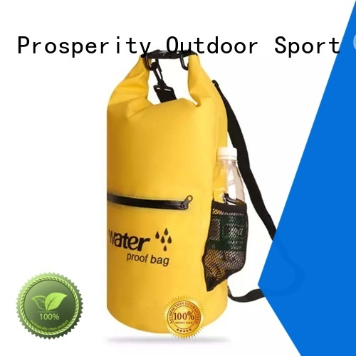 Prosperity heavy duty dry bag with strap manufacturer for rafting