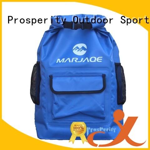 outdoor dry bag with strap with adjustable shoulder strap for kayaking