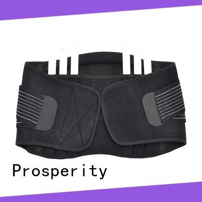 Prosperity sports back brace vest suit for weightlifting